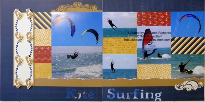 Kite Surfing page