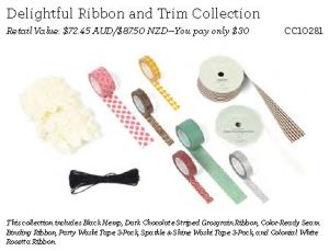Delightful Ribbon collection