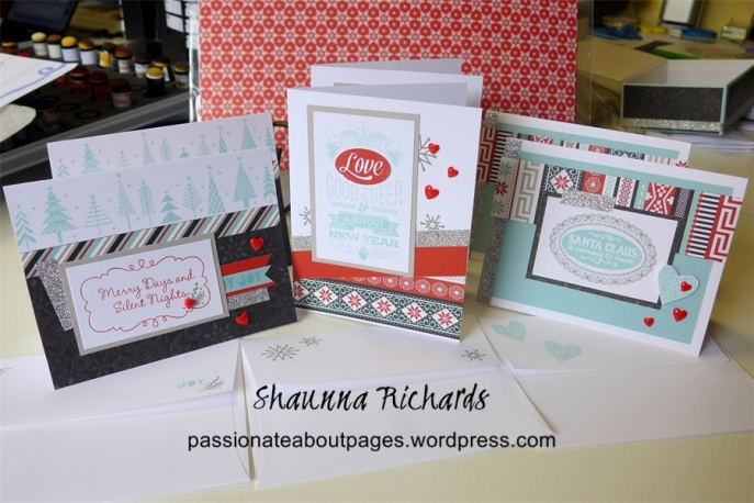 Snowhaven Card making Kit