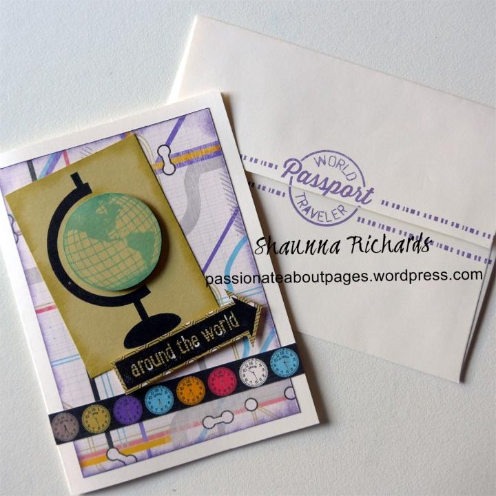 Wanderful Bon Voyage Card
