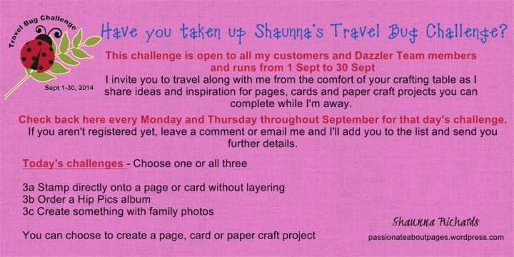 Travel Bug Challenge 3