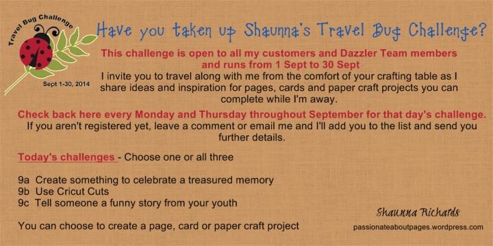 Travel Bug Challenge 9