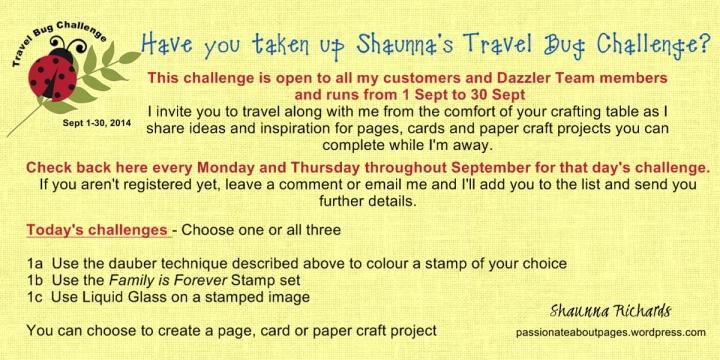 Travel Bug Challenge 1