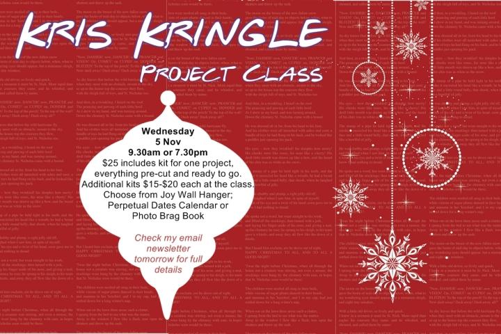 Kris Kringle Class