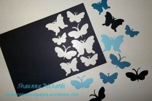 AS Butterfly card