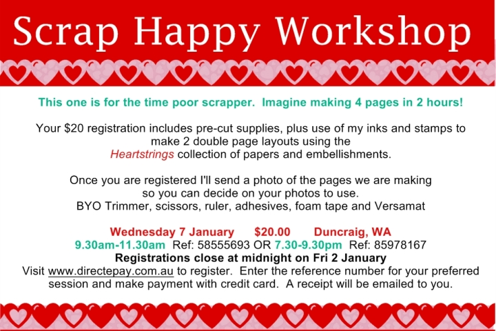 Jan 7 Scrap Happy