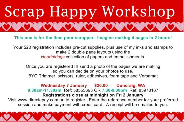 Jan 7 Scrap Happy