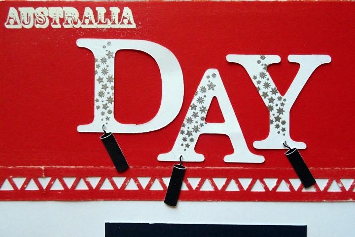 The Celebrat Australia Stamp (D1640) is perfect for Australia Day photos.