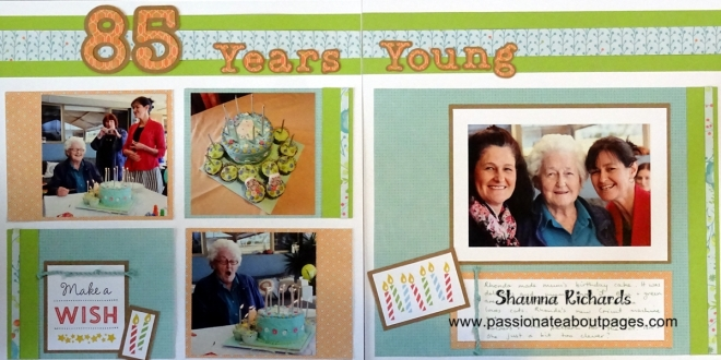Using the elements of a great card design on your page can be lots of fun.