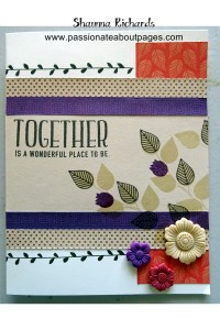 Cards made from scrap layouts - so easy!