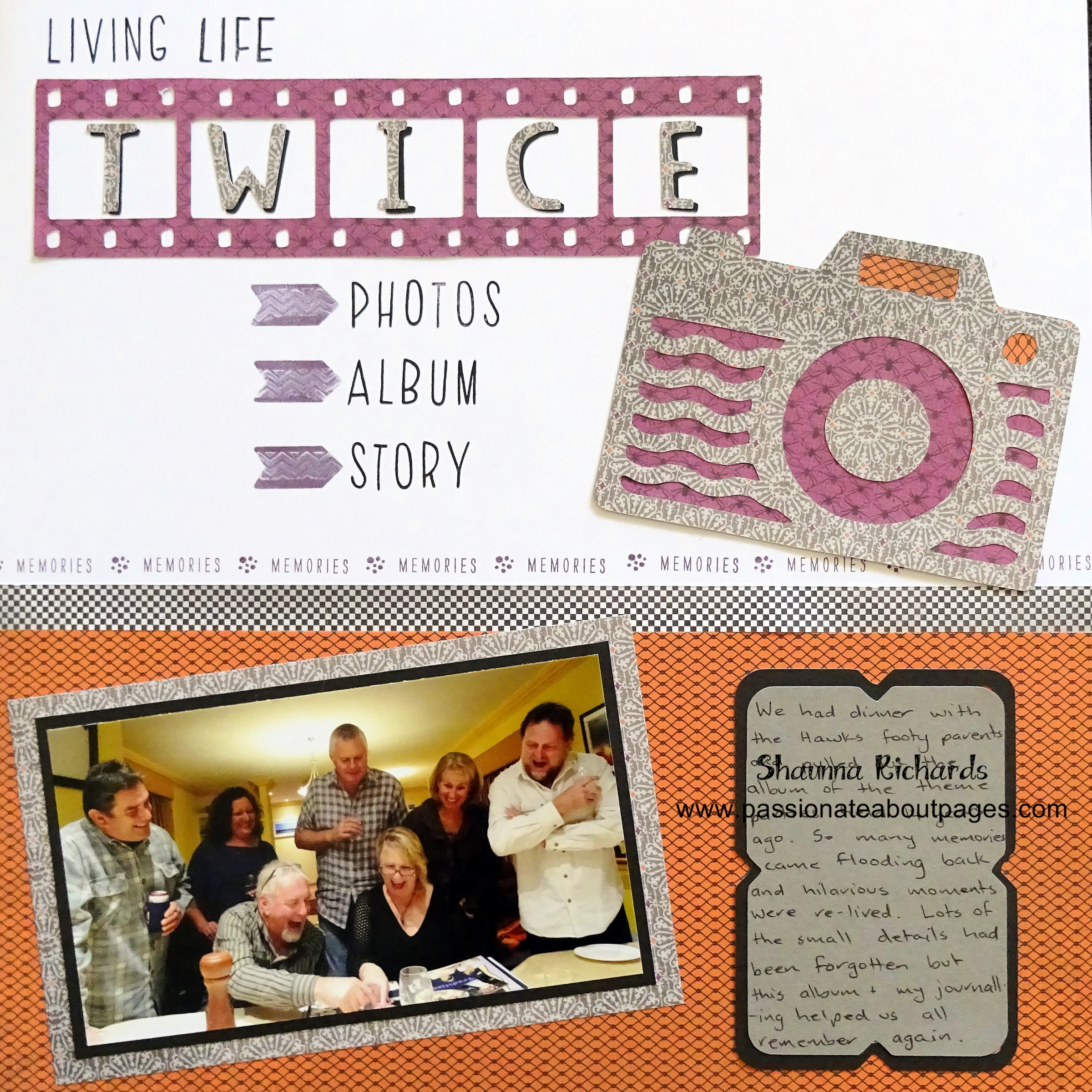 Celebrating the fact photo albums allow us to 'Live life twice'. #ctmhnevermore #ctmhartistry