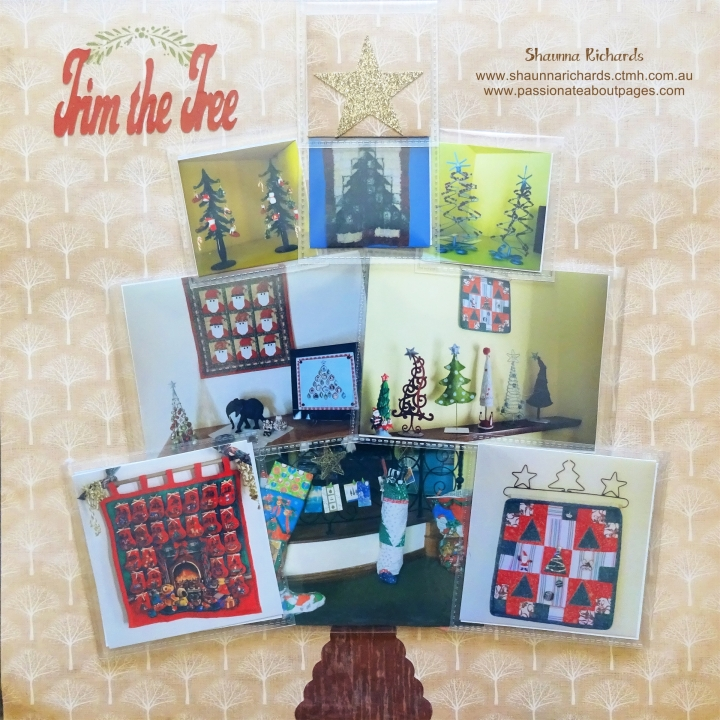 Trim the Tree Flip Flap Page