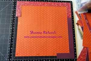 Sangria Blog Hop Background Paper
