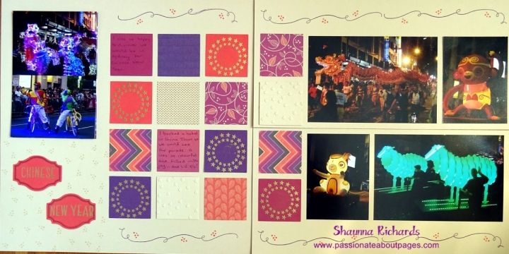 A Christmas stamp set is perfect for Chinese New Year photos! #ctmhsangria