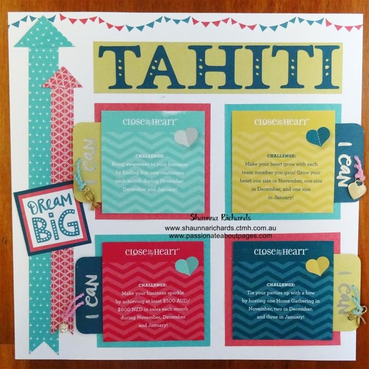 Tahiti Goals
