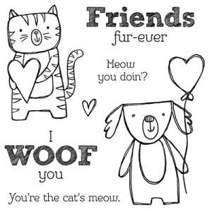 Friendly Pets B1481