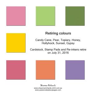 retiring colours, 2016