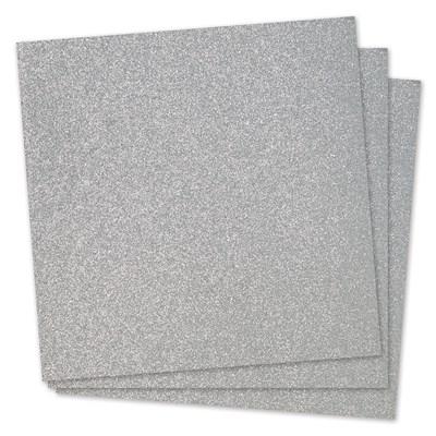 A3239 Silver Glitter Paper