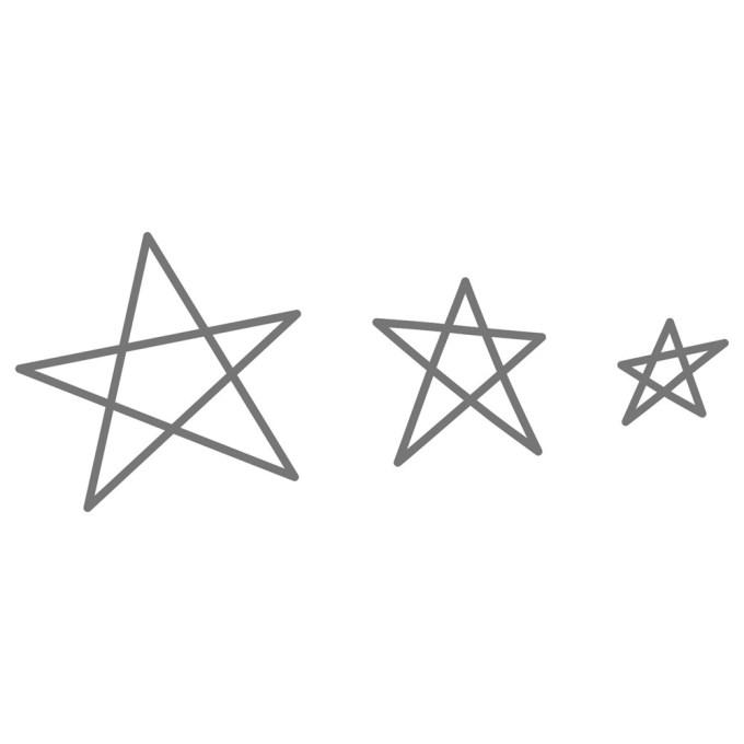 Z3261 Stars Thin Cuts