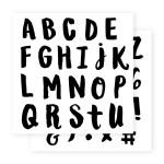 E1034 Marker Alphabet