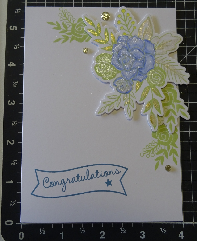 Hello Lovely Congratulations Card