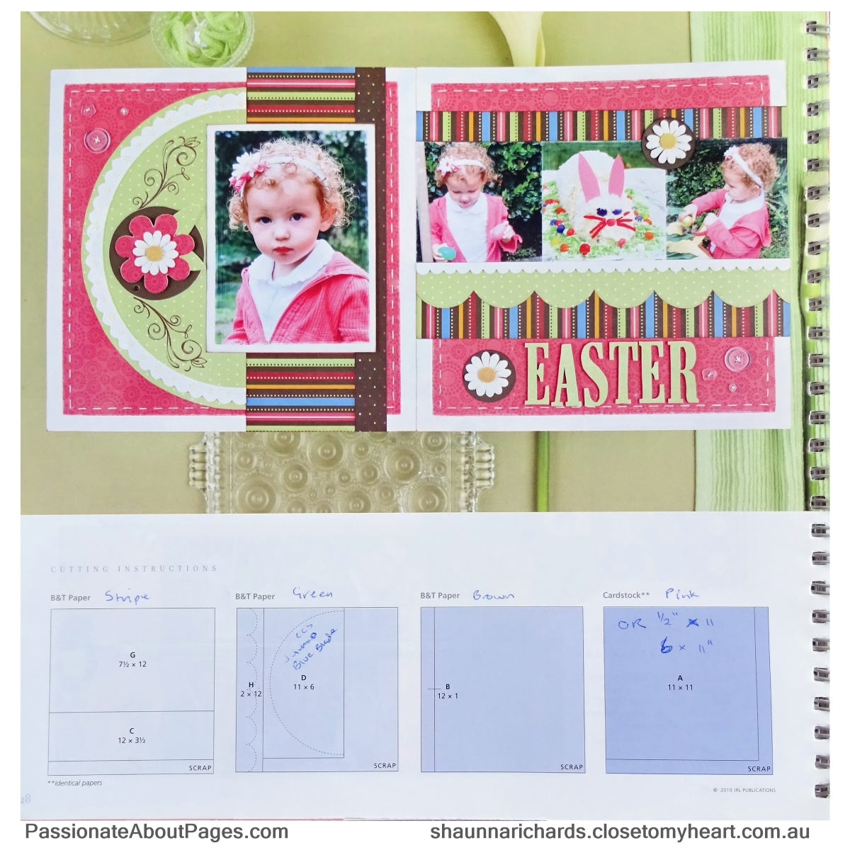 The Close To My Heart 'Magic' Idea Book is filled with awesome layout ideas, cutting and placement guides.