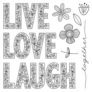 S1705 Live Laugh Love Australasian