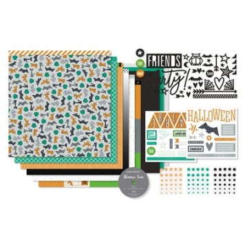 Cats & Bats Scrapbooking Workshop Kit - all the supplies you need for 6-12 pages. www.shaunnarichards.ctmh.com.au