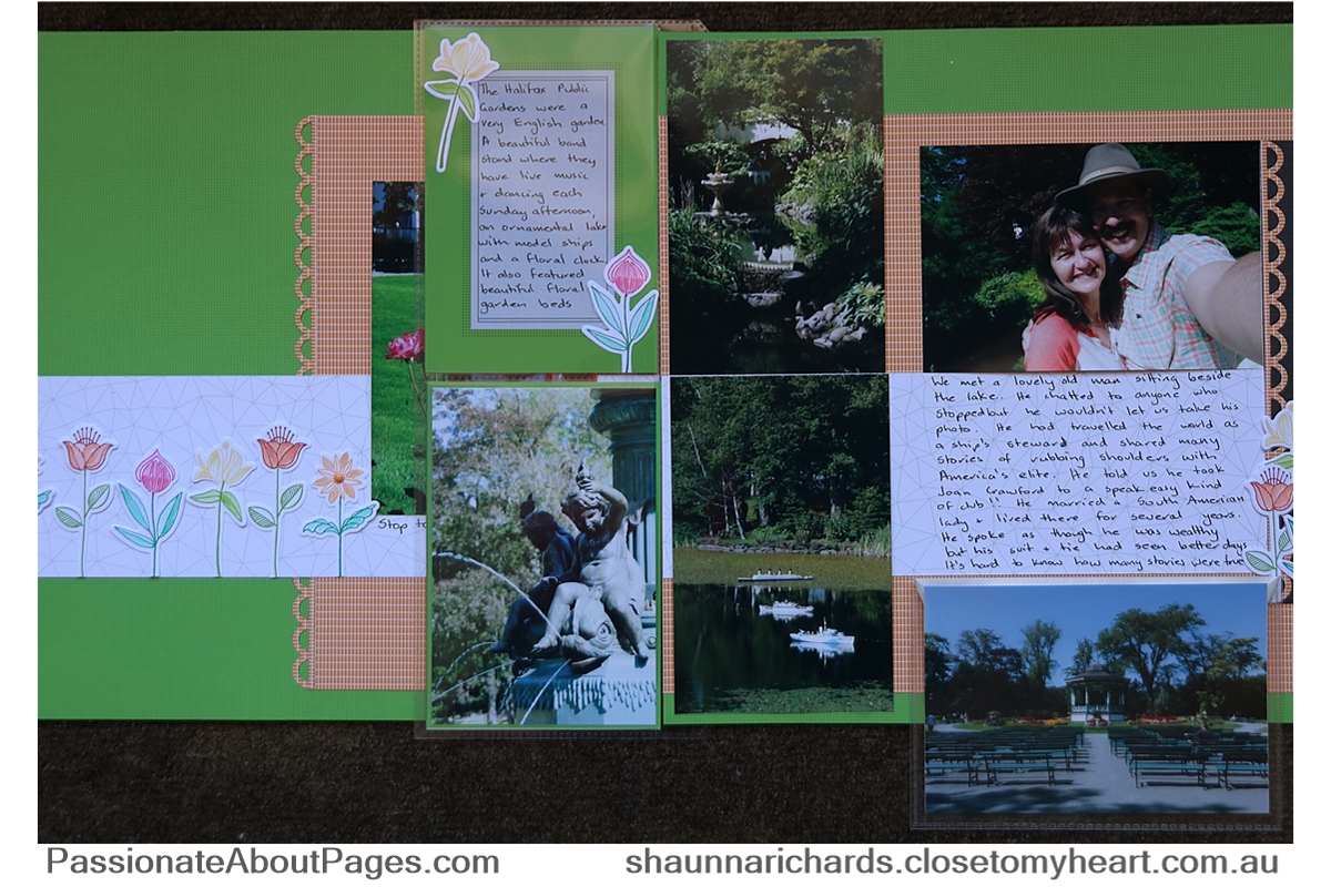 CTMH Pocket Plus Protectors and Flip Flaps allowed me to use twice the photos on this one layout. Purchase yours at shaunnarichards.ctmh.com.au
