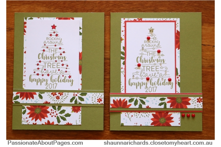 Christmas Tunes Stamp of the Month for October 2017 - such a fun set to own. Plain or fancy? Order yours at www.shaunnarichards.ctmh.com.au