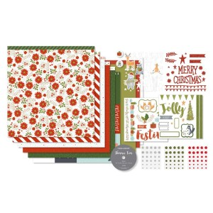 This gorgeous Christmas themed kit from Close To My Heart will make 8-12 scrapbook pages. Purchase yours at www.shaunnarichards.ctmh.com.au