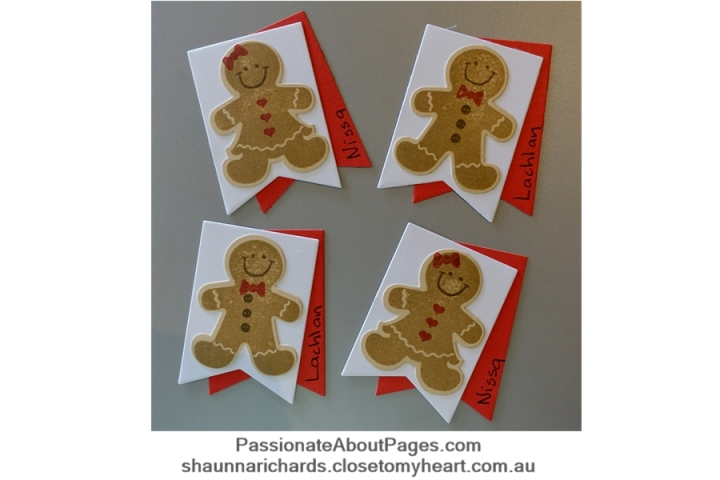 CTMH Gingerbread Friends (D1743). Order yours at www.shaunnarichards.ctmh.com.au