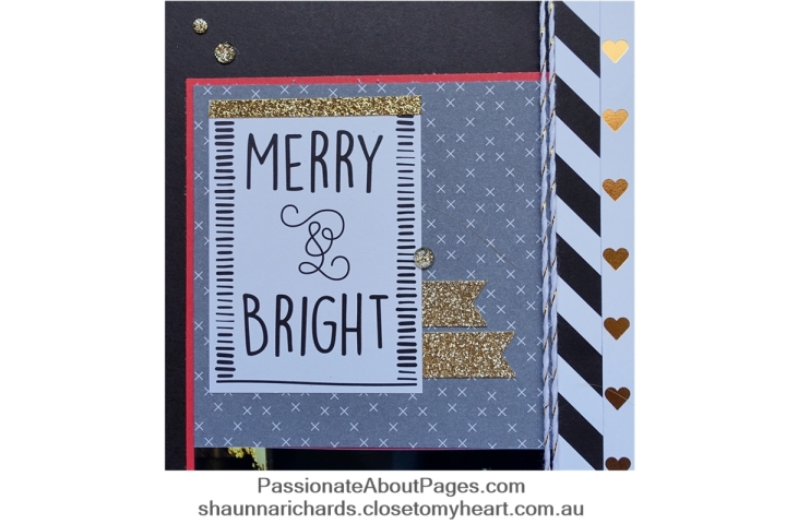 CTMH Silver & Gold Workshop Your Way is perfect for Christmas Market photos Who can resist a bit of shimmer trim?