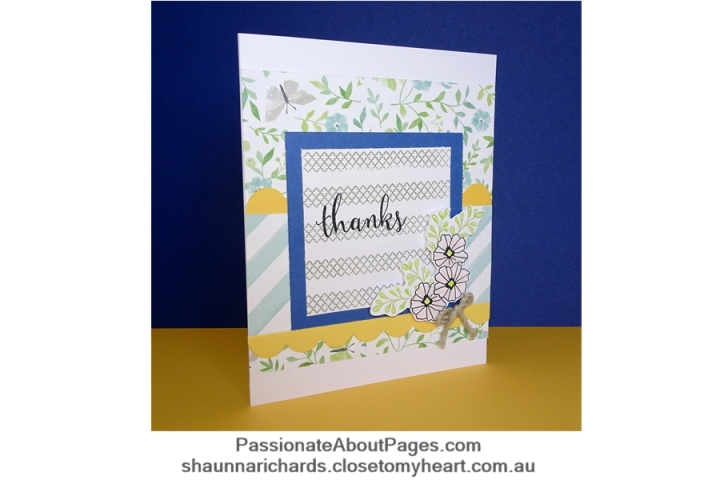 Chelsea Gardens cardmaking kit - Page 005
