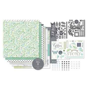 The Chelsea Gardens Scrpabooking Kit (G1149) from Close To My Heart makes 3 layouts and 9 cards with leftover supplies for more creative fun. Order yours at www.shaunnarichards.closetomyheart.com.au