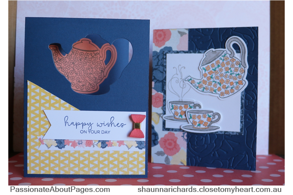Beautiful Friendship WYW Cards - supplies and instructions available at www.shaunnarichards.closetomyheart.com.au until end of Aug 2018