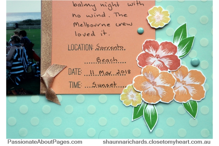 The Postcard Perfect collection is available May 2018, celebrating CTMH National Scrapbook Month. Order yours at www.shaunnarichards.closetomyheart.com.au