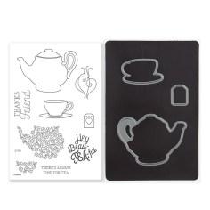 Z4180 Beautiful Friendship Cardmaking Stamp & Thin Cuts