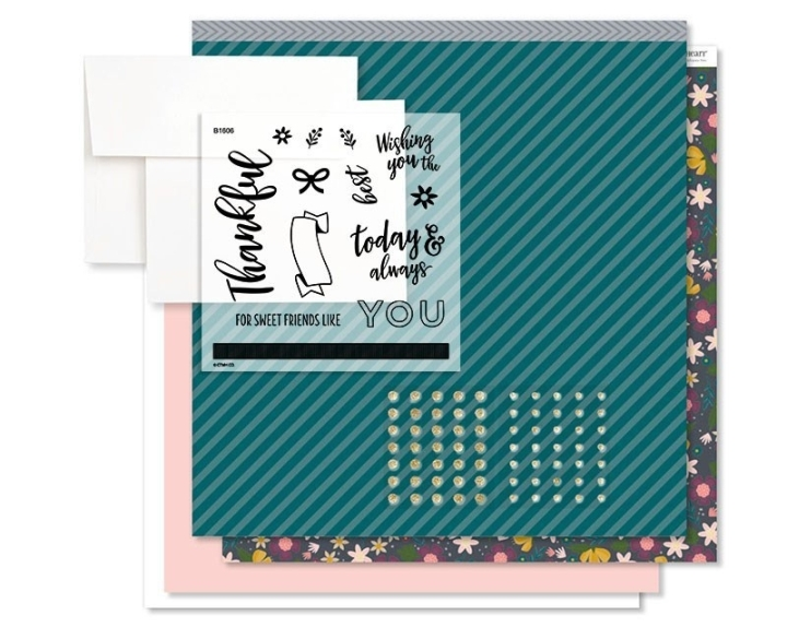 Documented Sweet Friends card kit availalbe until the end of Aug, 2018 from www.shaunnarichards.closetomyheart.com.au