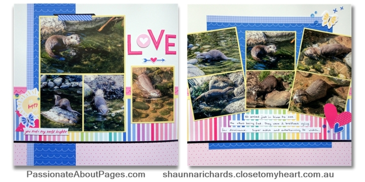Create bright, fun pages and cards with I Heart Us. Order your collection at www.shaunnarichards.closetomyheart.com.au before the end of April 2019