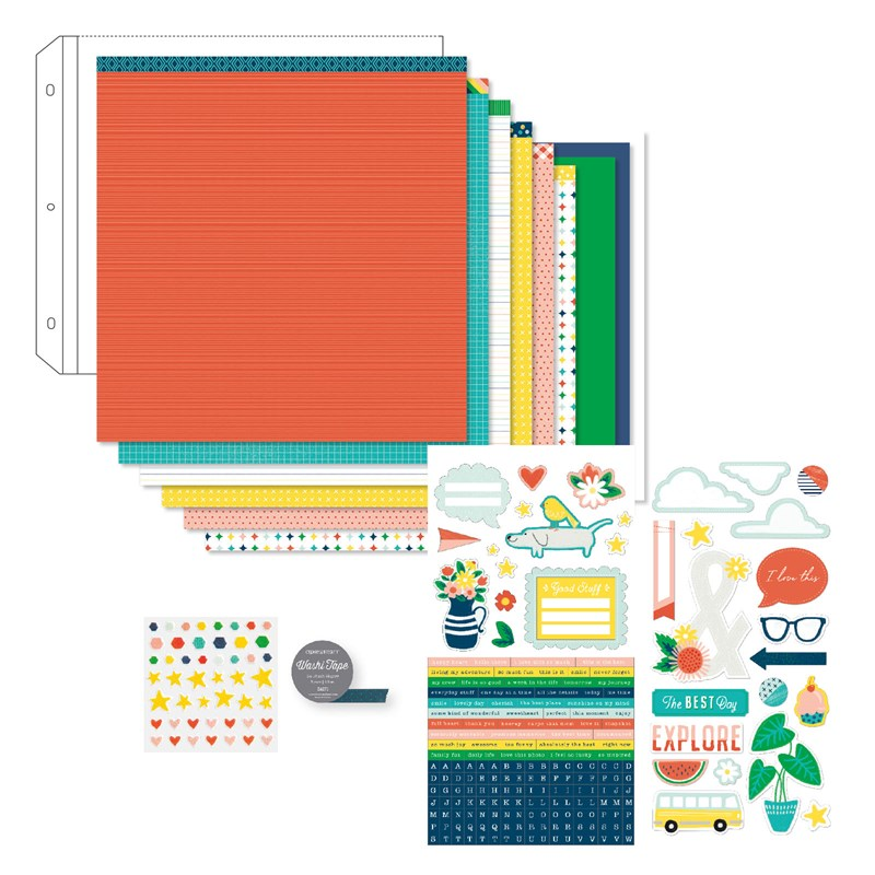 Create bright, fun scrapbook pages and cards with 'So Much Fun'. Order your collection at www.shaunnarichards.closetomyheart.com.au before the end of April 2019