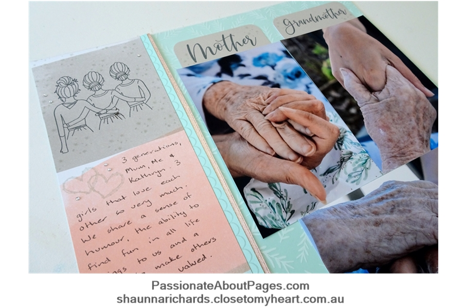 Tell your story using S1905 Besties - May's 2019's Stamp of the Month from Close To My Heart. Perfect for scrapbookers and card makers. Order yours from www.shaunnarichards.ctmh.com.au during May 2019