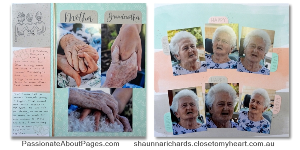 Family Ties - Tell your story using S1905 Besties - May's 2019's Stamp of the Month from Close To My Heart. Perfect for scrapbookers and card makers. Order yours from www.shaunnarichards.ctmh.com.au during May 2019