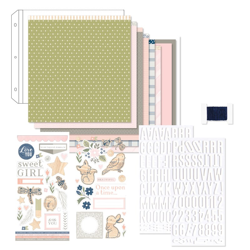 The Sweet Girl collection adapts beautifully to a variety of scrapbook themes and card designs. Order your collection at www.shaunnarichards.closetomyheart.com.au before the end of August 2019