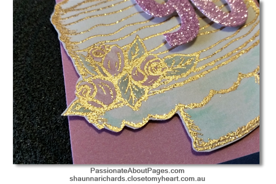 Tell your story using It's Your Day To Sparkle (S1906) – June's 2019's Stamp of the Month from Close To My Heart. Perfect for scrapbookers and card makers. Order yours from www.shaunnarichards.ctmh.com.au during June 2019