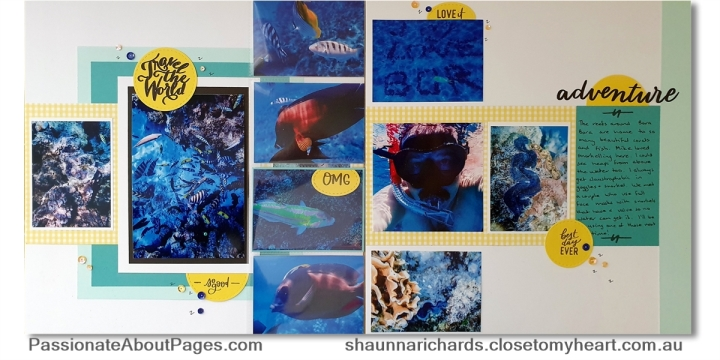 Tell your story using From Me to You (S1908) – August 2019's Stamp of the Month from Close To My Heart. Perfect for scrapbookers and card makers. Order yours from www.shaunnarichards.ctmh.com.au during August 2019