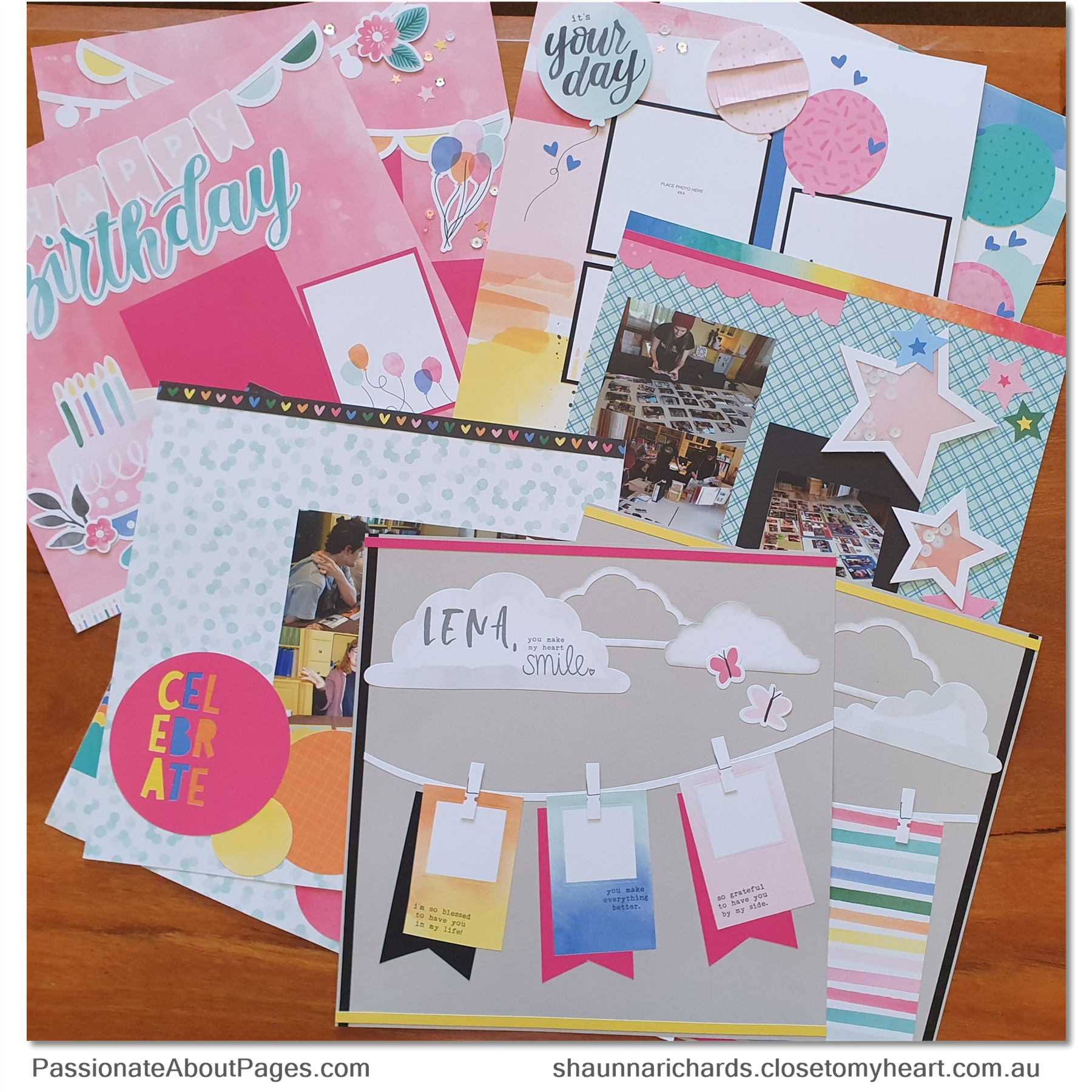 Close To My Heart's Celebrate Today collection adapts brilliantly to a variety of scrapbook themes and card designs. Order your collection at www.shaunnarichards.closetomyheart.com.au before the end of February 2020